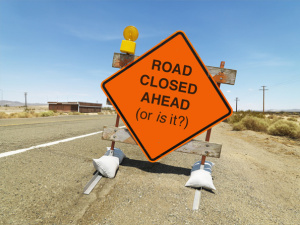 is-the-road-closed